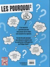 Verso de Les pourquoi en BD -2- Tome 2
