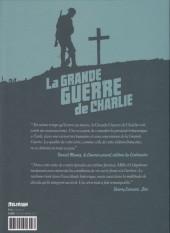 Verso de La grande Guerre de Charlie -9- La Mort venue du Ciel