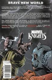 Verso de Captain America (2002) -INT2- The Extremists