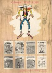 Verso de Lucky Luke -4b80- Sous le ciel de l'Ouest