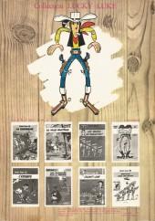 Verso de Lucky Luke -9b77- Des rails sur la prairie