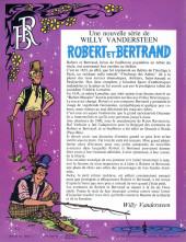 Verso de Robert et Bertrand -1- L'ermite de Beaucroy