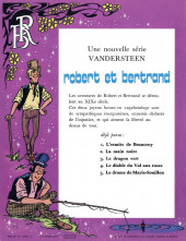 Verso de Robert et Bertrand -4- Le diable du Val aux roses