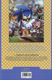 Verso de Sonic (Delcourt) -6- Espèces en voie de disparition