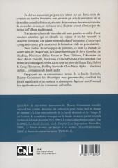 Verso de (DOC) Études et essais divers - Un art en expansion - Dix chefs-d'œuvre de la bande dessinée moderne