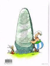 Verso de Astérix -36- Le papyrus de César