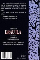 Verso de The tomb of Dracula (1991) -2- Book 2