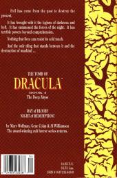 Verso de The tomb of Dracula (1991) -4- Book 4