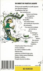 Verso de Gaston (Poche) -7- En direct du passé de LaGaffe