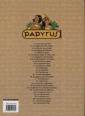 Verso de Papyrus -6c06- Les quatre doigts du dieu lune