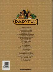 Verso de Papyrus -7c03- La vengeance des Ramsès
