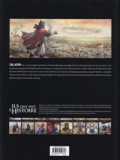 Verso de Ils ont fait l'Histoire -12- Saladin