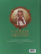 Verso de La quête d'Ewilan -3- La passe de la Goule
