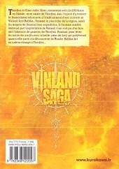 Verso de Vinland Saga -15- Tome 15