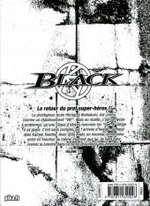 Verso de Kamen Teacher Black -1- Tome 1