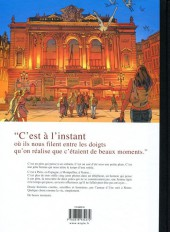 Verso de De beaux moments - Tome TL
