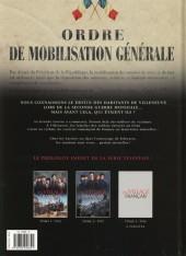 Verso de Un village français -2- 1915