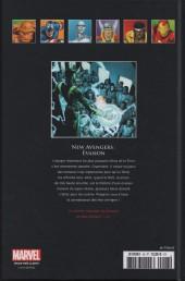 Verso de Marvel Comics - La collection (Hachette) -4344- New Avengers - Évasion