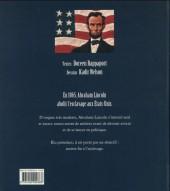 Verso de Abraham Lincoln - Abraham Lincoln, l'homme qui a aboli l'esclavage aux États-Unis