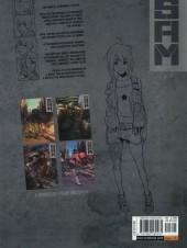Verso de S.A.M. (en anglais) -2- Robot hunters