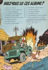 Verso de Gil Jourdan -12a79- Pâtée explosive