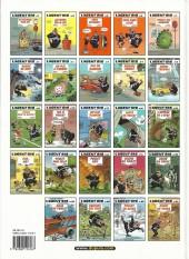 Verso de L'agent 212 -10b2004- Agent trouble