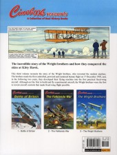 Verso de Cinebook Recounts -3- The Wright Brothers