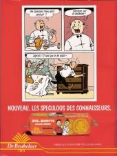 Verso de Bob et Bobette (Publicitaire) -DB2- Les Piquedunes pickpockets