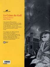 Verso de Agatha Christie (Emmanuel Proust Éditions) -7a10- Le Crime du Golf