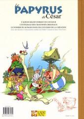 Verso de Astérix (albums Luxe en très grand format) -36- Le Papyrus de César