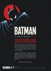 Verso de Batman : Les Nouvelles Aventures -2- Volume 2