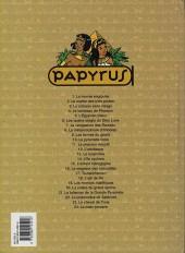 Verso de Papyrus -21b01- Le talisman de la grande pyramide
