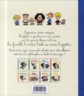 Verso de Mafalda (La petite philo de) - Bienvenue à l'école !