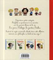 Verso de Mafalda (La petite philo de) - La guerre et la paix
