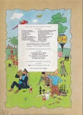 Verso de Tintin (Historique) -12B34- Le trésor de Rackham Le Rouge