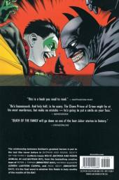 Verso de Batman and Robin (2011) -INT03- Death of the family