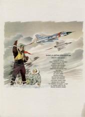 Verso de Tanguy et Laverdure -14a1972- Baroud sur le désert