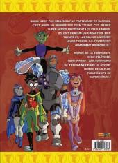 Verso de Teen titans (Les aventures) -1- Tome 1
