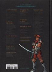 Verso de Lanfeust et les mondes de Troy - La collection (Hachette) -16- Lanfeust des Étoiles - Le sang des comètes