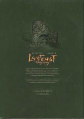 Verso de Lanfeust Odyssey -COF int1- Premiers cycles