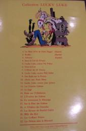 Verso de Lucky Luke -23a- Les Dalton courent toujours