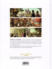 Verso de Les grands Peintres -8- Courbet