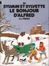 Verso de Cubitus -25Duo- Cubitus, chien sans accroc / Sylvain et Sylvette - Le Bonjour d'Alfred