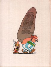 Verso de Astérix -7a76- Le combat des chefs