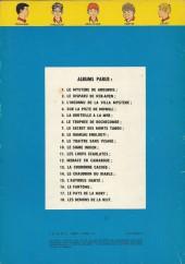 Verso de La patrouille des Castors -8b74- Le hameau englouti