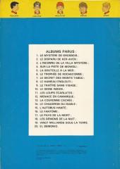 Verso de La patrouille des Castors -10b79- Le signe indien