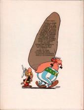 Verso de Astérix -15b1976- La zizanie