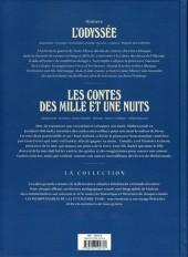 Verso de Les indispensables de la Littérature en BD -FL11- L'Odyssée / Les Contes des mille et une nuits