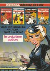 Verso de Natacha -3a77- La mémoire de métal