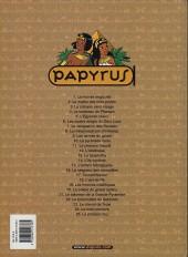 Verso de Papyrus -18b03- L'Œil de Ré